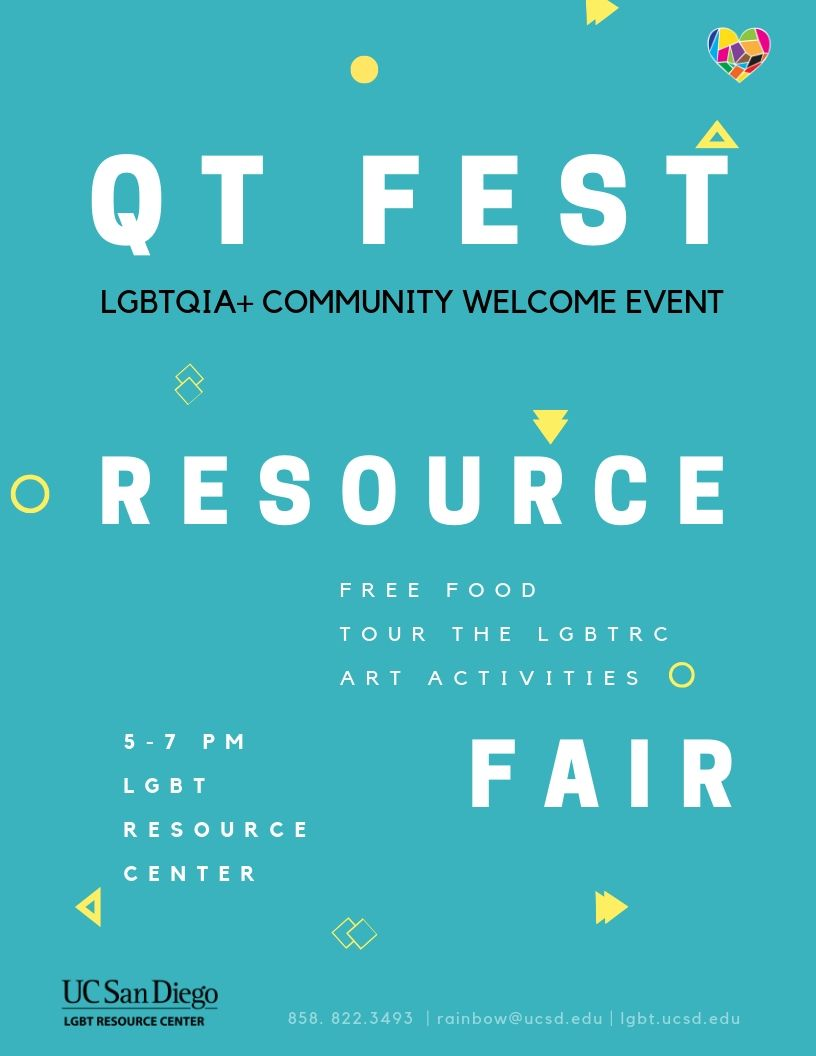 QT Fest Flyer September 26, 5-7pm